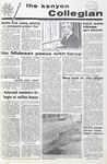 Kenyon Collegian - April 1, 1971