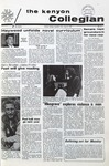 Kenyon Collegian - April 8, 1971