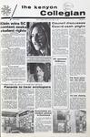 Kenyon Collegian - April 15, 1971