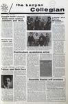 Kenyon Collegian - April 22, 1971