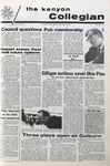 Kenyon Collegian - April 29, 1971