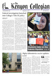 Kenyon Collegian - September 15, 2016