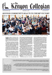 Kenyon Collegian - November 10, 2016