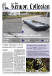 Kenyon Collegian - September 14, 2017