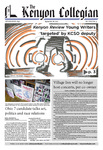 Kenyon Collegian - September 28, 2017