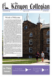 Kenyon Collegian - August 29, 2018