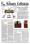 Kenyon Collegian - February 22, 2018