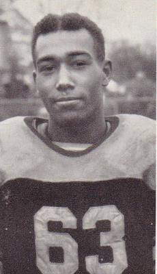 Gene Rouse Football ca. 1942