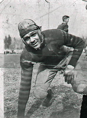Richard Carter, Early Black Football Player ca. 1948