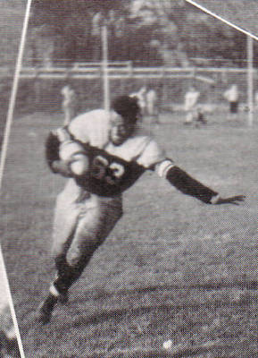 Gene Rouse Football ca. 1941