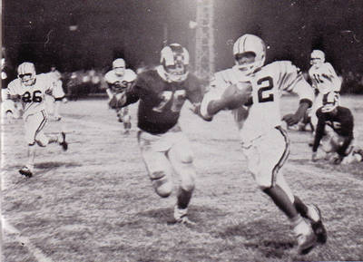 Joe Brooks Football ca. 1964