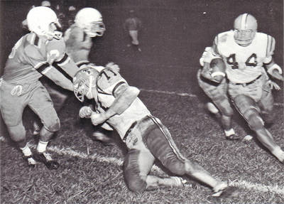 Jim Byrd Football ca. 1966