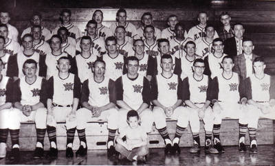 Jim Byrd and MVHS Baseball ca. 1963