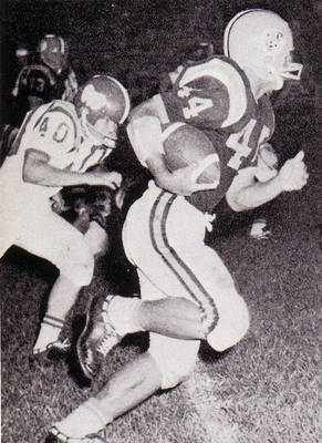 Jim Byrd Football ca. 1965