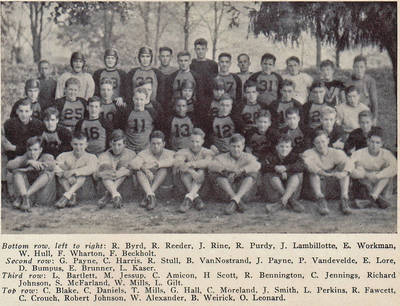 John Payne Football ca. 1935