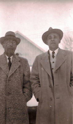 George and Herbert Booker ca. 1950
