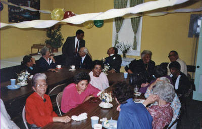 George Booker and others ca. 1990