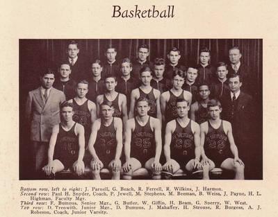 John Payne Basketball ca. 1935
