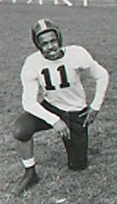 Black Football Player ca. 1950
