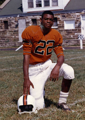 Joe Brooks Football ca. 1963