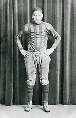 Black Football Player ca. 1910