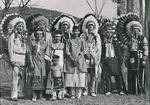 Byrd family with American Indian tribe ca. 1900