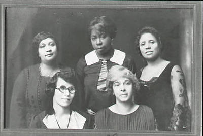 Members of Colored Women's Glee Club