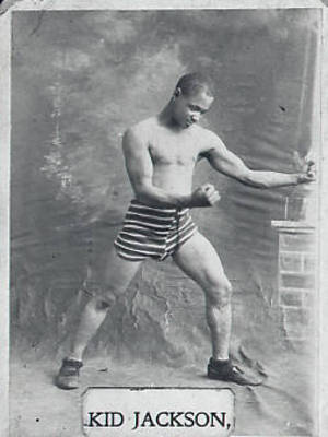 Kid Jackson, the fighter ca. 1910