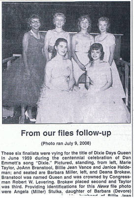 Dixie Days Queen chosen