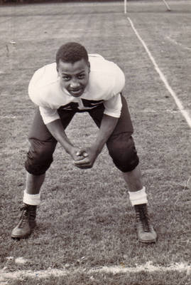 Willis Taylor, Mount Vernon Football, ca. 1940s