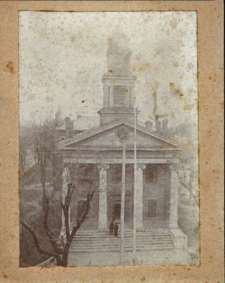 Knox County Courthouse ca. 1880