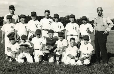 Byron Payne youth baseball team, ca. 1964