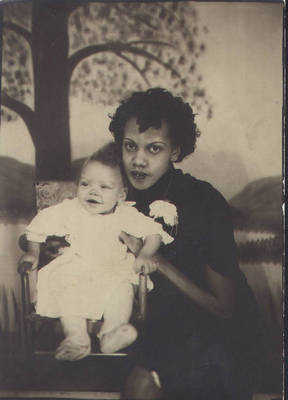 Alice and Shirley Meyers ca. 1942
