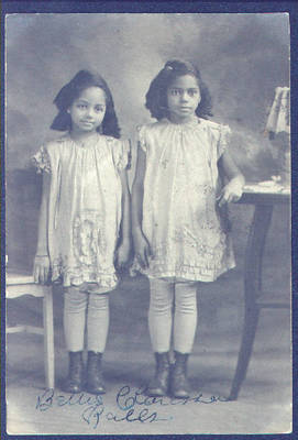 Betty Jane Ralls and Clarissa Ralls ca. 1928