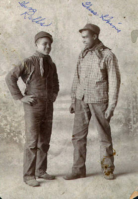 Gus Ralls and Gus Goins ca. 1910-1920