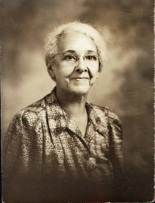 Viola Booker ca. 1950