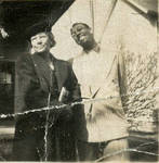 Gene Rouse and his mother, Louise