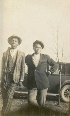 Ernie Brown and Gus Ralls ca. 1910