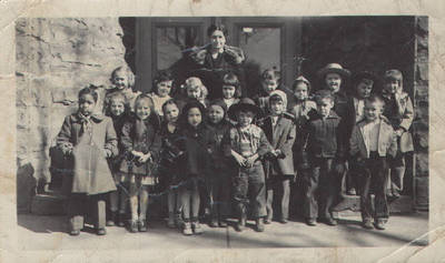Mary Louise Rouse's 4th Ward School ca. 1947