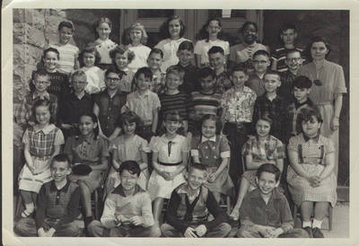 Mary Louise Rouse's 4th Ward School ca. 1950