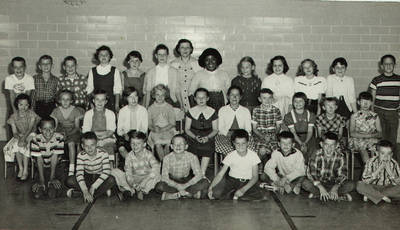 Joseph Booker and Class Photo 3 ca. 1950s