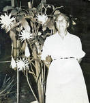 Bertha Hammonds and Night Blooming Cereus