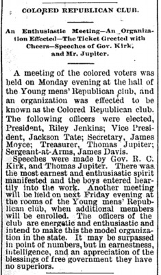 Colored Republican Club