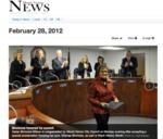 Mt. Vernon City Council Honors Ellamae Simmons