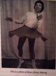 Dian Hammonds Skating ca. 1940s