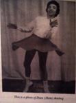 Dian Hammonds Skating ca. 1940s