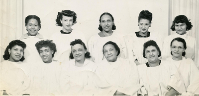 Mt. Calvary Baptist Church Choir ca. 1947