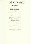 Catalogue of the Officers and Students of the Theological Seminary of the Diocese of Ohio, and Kenyon College and Grammar School 1832-1833