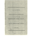 Catalogue. Theological Seminary. Kenyon College. Kenyon Preparatory Schools. 1835-1836