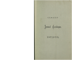 Catalogue of Kenyon College, and of the Theological Seminary of the Diocese of Ohio 1872-1873